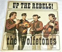 "VINYL LP by THE WOLFTONES ""UP THE REBELS!"" / FONTANA 587 380 TL (1966) MONO / UK"