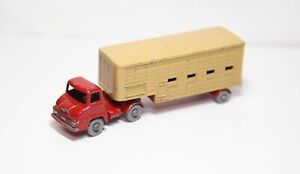 Lesney Matchbox No 7 Thames Trader Jennings Cattle Truck - Vintage Model Model