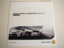 Renault . Megane & Laguna Coupe . Monaco GP . March 2011 Sales Brochure