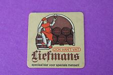 Vintage BELGIAN Beer Coaster: Liefmans Speciaal Fruit Bier ~ Oudenaarde, BELGIUM
