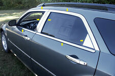 2005 2006 2007 2008 DODGE MAGNUM 14PC STAINLESS STEEL WINDOW TRIM PACKAGE