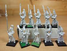 10 Classic Metal Warhammer alto elfo espada maestros de Hoeth parte Pintado (341)