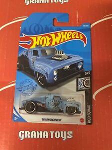 Erikenstein Rod #120 3/5 Rod Squad 2021 Hot Wheels Case M