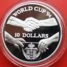 NIUE-Savage Islands: 10 Dollars 1991 Silber, KM# 59, #F 0591, PP-Proof