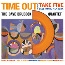 Dave Brubeck - Time Out - NEW SEALED import 180g LP - Colored Vinyl Die cut cove