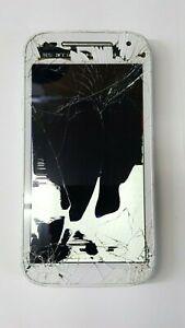 Motorola MOTO E (2nd Gen.) 8GB White (Boost Mobile) Cracked Glass/LCD Google LK