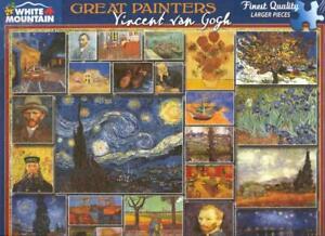 White Mountain Jigsaw Puzzle 1000 Pc Great Painter Vincent  Van Gogh NIB