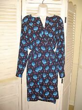 Ann Taylor Loft Dress Floral 2016 NWT Size Large  Free Shipping