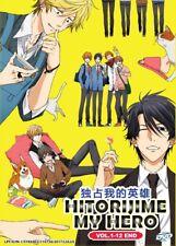 DVD Anime Hitorijime My Very Own Hero Complete Series (1-12) English Subtitle
