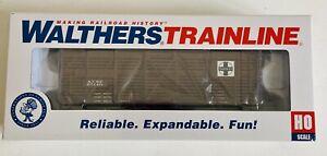 Walthers HO Trainline Santa Fe Stock Car 931-1681. NEW