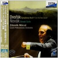 ZDENEK MACAL (COND)-DVORAK: THE SYMPHONY NO. 9 IN E MINOR-JAPAN SACD Hybrid G50