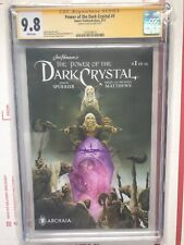 Power of the Dark Crystal🔥🔥🔥1A CGC 9.8 Signature Signed!  Optioned Jae Lee!