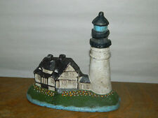 Rustic Cast Iron Nautical Sea Shore Light House Door Stop Cottage House