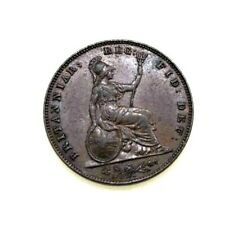 GREAT BRITAIN 1858 Farthing XF KM 725 Queen Victoria