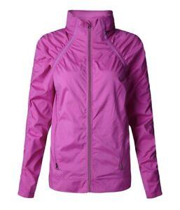 Lululemon Gather And Sprint Jacket Ultra Violet Lightweight Hooded Pockets 6