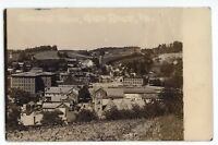 RPPC Aerial View of GLEN ROCK PA York County Pennsylvania Real Photo Postcard