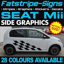 SEAT Mii GRAPHICS STRIPES STICKERS DECALS 1.0 SPORT VINYL CITY CAR
