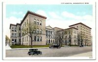 City Hospital, Minneapolis, MN Postcard *201