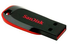 SanDisk 16GB Cruzer Blade USB Flash Pen Drive Memory Stick New UK
