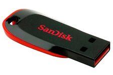 SANDISK 16GB CRUZER BLADE USB FLASH PEN DRIVE MEMORY STICK NUOVO Regno Unito