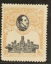 ESPAÑA Edifil 309** Mnh  10 Pesetas Amarillo  Congreso UPU  1920   NL530