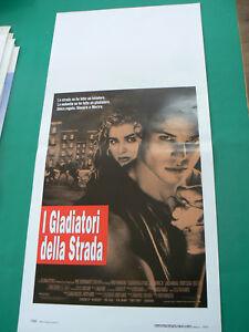 LOCANDINA manifesto I GLADIATORI DELLA STRADA THE WARRIORS 1992