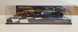 Minichamps 1/43 Daniel Ricciardo Renault R.S.20 Eifel Nurburgring GP 2020 F1