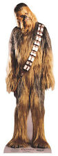 CHEWBACCA FROM STAR WARS MINI CARDBOARD CUTOUT/STAND UP - FUN SIZE FOR FANS