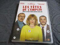 """DVD """"LES TETES DE L'EMPLOI"""" Franck DUBOSC, Elsa ZYLBERSTEIN, Francois-Xavier DEM"""