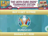 Panini Euro 2020 Tournament Edition Sticker Collection #1 - #230
