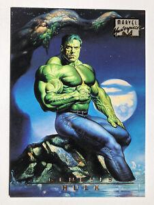 1996 Marvel Masterpieces #99 Hulk (Fleer, Skybox) , Rare, HTF!!!