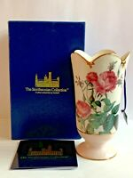 The Smithsonian Collection Pink Rose Vase 925025 By Goebel New In Box