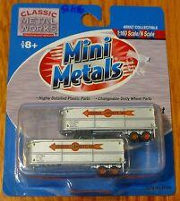 Classic Metal Works #51106 Mini Metals 32' Fruehauf Aerovan Trailer -- Cooper-Ja