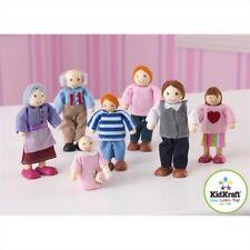 Kidkraft Caucasian Doll Family of 7