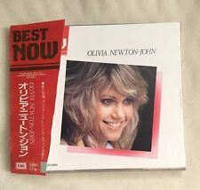 OLIVIA NEWTON JOHN BEST NOW JAPAN CD TOCP-9084 OBI 1990 SO RARE