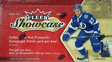 2014-15 Upper Deck Fleer Showcase Hockey Sealed Hobby Box
