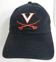 """Virginia Cavaliers Hat Strapback Aprox 7 1/4"""" Small NCAA New Era Prefade Cap blk"""
