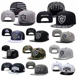 New Adjustable Size Oakland Raiders Football NFL NY Unisex Baseball Caps Hats