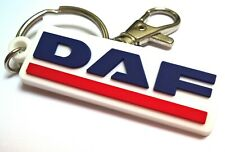 Daf emblem logo keychain 105 106 rubber fob accessories for truckers