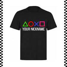 CAMISETA GAMER / T-SHIRT GAMER PLAY STATION