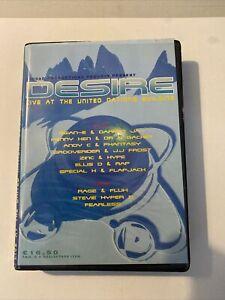 Desire (3-2-96) Rave Tapes (Complete Pack) United Nation Building Stevie Hyper D