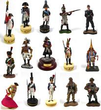 Lot de 15 Soldats de Plomb 1er Empire Napoléon + 3eme Reich WW2 1/32 60mm LS16