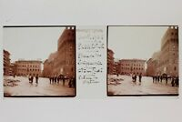 Florence Firenze Italia Placca N3 Lente Stereo Vintage 1938