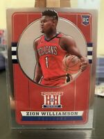 2019-20 Panini Chronicles Hometown Heroes ZION WILLIAMSON #552 Rookie Card -M/NM