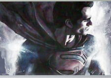 SUPERMAN Man Of Steel Henry Cavill Print HAND SIGNED by ROB PRIOR w COA
