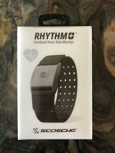 Scosche RHYTHM+ Heart Rate Monitor - RTHM1.9 - Black - Excellent