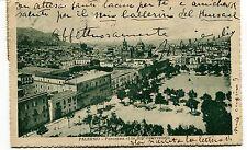 1925 Palermo Panorama visto dall'Osservatorio Guller Viareggio FP B/N VG