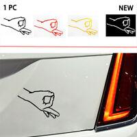 CIRCLE GAME GOTCHA Funny Laptop Car Window Bumper OK Gesture Vinyl Stickers