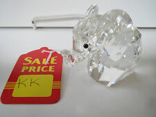 SWAROVSKI Crystal - Large Elephant - Floppy Metal Tail - KK