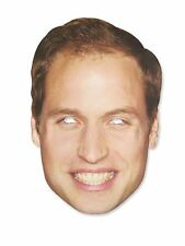 PRINCE WILLIAM CELEBRITY FACE MASK STAG HEN NIGHT PARTY FANCY DRESS ACCESSORIES